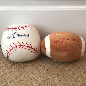 """Other - My """"First"""" Baseball and Football (Bundle of 2)"""